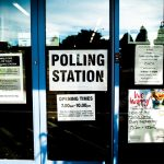 Polling station, 2020 elections